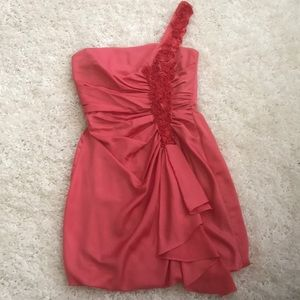 Peach size 8 Max and Cleo cocktail dress